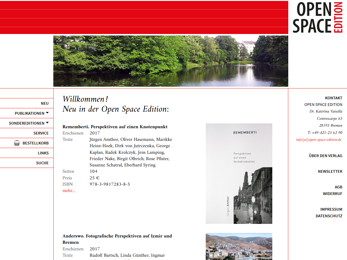 Website 'Open Space Edition'